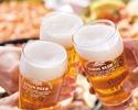 アルコール飲み放題×Super Dinner(シニア)