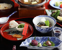 Soft-shelled turtle-centric Kaiseki course 20,000JPY