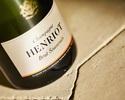【シャンパン飲み放題の特別プラン】聖なる夜にアンセンブルが贈るWメインのオリエンタルクリスマスディナーコース