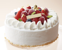 Celebration cake 15 cm round type 4,550 yen (for 4 to 6 people)