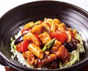 Steamed Rice with Seafood and Vegetable in Hot and Sour Sauce