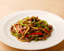 Stir-fried Beef and Green Pepper (S size)