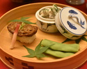 [Lunch only] The Kaiseki course for vegetarian 11,000JPY (Over 10 People)