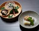 "[Lunch only]Kyoto-style Kaiseki ""Fujibakama"" 11,000JPY (Over 10 People)"