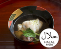 [Lunch only]Halal Kaiseki Course 13,200JPY (Over 10 People)