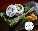 Halal Kaiseki Course 16,500JPY (Over 10 People)