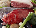 "【MOIWA】 Hokkaido beef ""SAROMAKUROUSHI"" or Seafood choice course"
