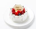 生デコレーションケーキ 6号