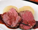 Extremely thick cut roast beef course for 6P~10P