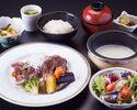 【個室】牛ステーキ膳 2,970円(税サ込)