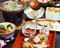【個室】3月のおすすめ会席料理「 弥生会席 」 6,600円(税サ込)