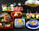 【個室】11月のおすすめ会席料理「 霜月会席 」 6,600円(税サ込)