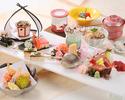春の恵みと兼六園を 魅惑の個室で満喫するコース10,000円