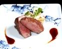 (黒毛和牛シャトーブリアン)季節の牛肉割烹のコース