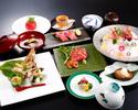 Waka Kaiseki Dinner( includes Teppanyaki Steak)