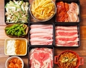 【限定プラン】お時間無制限!牛・豚・鶏+エスニックタパス食べ放題 アジアンBBQコース(飲み放題付)
