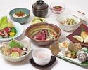 慶事用特別献立【寿会席 華】鯛のかぶと煮・桜湯付き