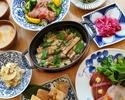 【贅沢季節ランチ★2000円】食後のカフェ付き!鮮魚を使った冷菜や炊きたてストウブご飯など全6皿の和食ランチコース