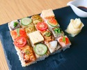 【Weekend Lunch Limited】 KINKA Mosaic Sushi Set