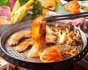 5月7日~【ビアホール】サムギョプサルお肉&包み野菜食べ放題コース☆ウェブサイト限定3H飲み放題付