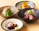 [Day course] Omakase (appetizer + grip) 12,000 yen