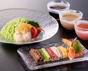 【9月13日まで】仙台雪菜の豪華 翡翠什景冷麺セット
