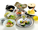 【a traditional Japanese course dinner】 Mon