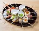 WEB discount dinner course SAKURA (串 12 pieces)