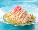 """Sairyu"" original cold noodles-""Japanese"" cold noodles with fresh sudachi and domestic steamed chicken-"
