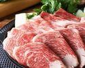 2時間飲み放題 特選黒毛和牛すき焼きコース 5500円(全7品)