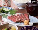 牛肉山椒焼き膳
