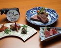وجبة حلال تحتوي جميع أصناف لحم بقر أوزاكي  55,000 ين ياباني 10 أشخاص