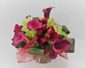 Seasonal arrangement flower