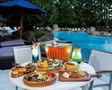 Night pool ×Kailua Kona BBQ (kids menu)