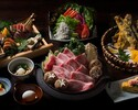 【西新宿店限定】2時間飲み放題+握り寿司と特選神戸牛すき焼きコース(全7品)