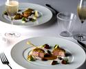 【スペシャルオファー】乾杯シャンパーニュ付き 黒毛和牛の希少部位と旬の魚介を味わうおすすめディナー