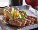 国産黒毛和牛ステーキ膳(120g)