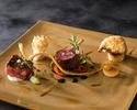 <ランチ>お魚とお肉料理の両方が選べるフルコース・・「Plaisir (~2021/1/11)」/¥6,800-
