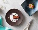 <ランチ>お魚とお肉料理の両方が選べるフルコース・・「PLAISIR」/¥6,800-