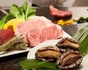 【7/3~8/31】(ディナー)活鮑とステーキの特別コース ¥13,800~
