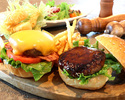 [Dinner] Pier21 Special Hamburger ~For Two~