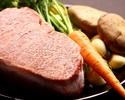 【LUNCH】Sirloin Steak Lunch飛騨牛80g