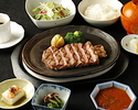 Beef Steak (Sirloin 100g) Lunch [Seryna SHINJUKU]