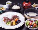【個室】牛ステーキ膳 3,080円(税サ込)