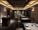 上海蟹と厳選素材の特別料理が織りなすスペシャルコース 60000円(テーブル席)