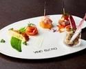 【土日祝限定】食後のカフェ付き!前菜・スープ・パスタ・デザートなど全4品の表参道ランチ 2,500円