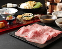 【Shikisai Dinner】Kobe Beef Shabu-Suabu