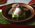 [Kaiseki dinner Seasonal] Regular price