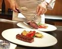[Teppanyaki dinner Hana] 7 dishes including Omi beef fillet or sirloin Regular price