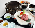常陸牛陶板焼膳(肉60グラム)